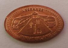 1 x Elongated Coin - LEERANER MINIATURLAND - Souvenirmünze - Quetschmünze