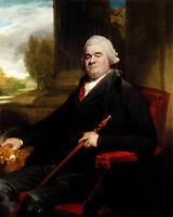 Oil George Romney - Male Portrait Of Sir Benjamin Truman in landscape on canvas