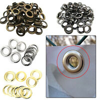 20//50 Sets 3.5mm to 14mm Eyelet Eyelets Grommet Clothing Leather Banner Craft