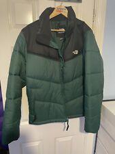 The North Face Saikuru puffer jacket in night green