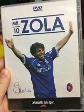 Mr 10 Gianfranco Zola DVD (region: ALL) Italian soccer ** RARE **