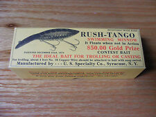Beautiful Handmade Contemporary Rush Tango Minnow Lure Collectors Edition in Box