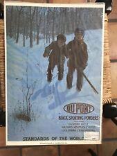 Vintage 1972 Reproduction Ad Du Pont Powder Company
