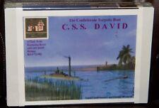 Cottage Industry Civil War Confederate Torpedo Boat C.S.S. David model kit 1/72