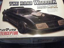 1:24 Filmmodell Mad Max Interceptor Aoshima 1. Serie Rarität zum sammeln look