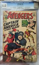 Avengers 4 - CGC 6.0 (First Silver Age Captain America)