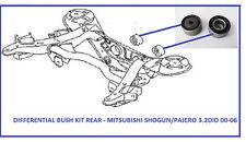 Se adapta a Mitsubishi Shogun/Pajero 3.2 Di-D (2000-2006) Trasero Diferencial Kit De Bush