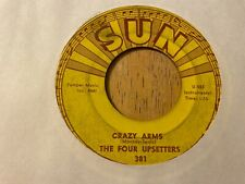 """The Four Upsetters Crazy Arms / Midnight Soiree 7"""" 45 rpm Sun VG [rockabilly]"""