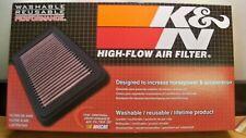 NEW K & N 33 2252 AIR FILTER FITS SCION COROLLA LOTUS 2000 2017 FREE PRIORITY