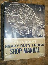 1967 CHEVROLET HEAVY DUTY TRUCK SERIES 70-80 FACTORY SERVICE MANUAL SHOP REPAIR