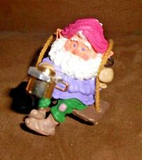 Cute Elf Gnome at Work Christmas Holiday Ornament - Very Good