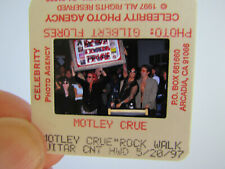 More details for original press photo slide negative - motley crue - 1997 - d