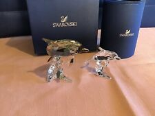 Swarovski figurines Dolphins Mother and Baby 5043617 & 5043633