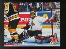 John Vanbiesbrouck 8 x 10 Stadium Giveaway Playoff Moment Florida Panthers