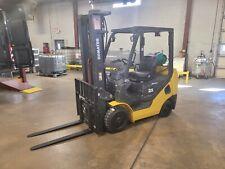 2014 Komatsu Fg25St-16 Cushion Forklift With 3 Stage Mast