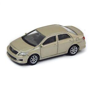 """2007 Toyota Corolla Sedan Beige Welly 1:60 1:64 No. 52292 3"""" inch Toy Car Model"""