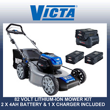 Victa 82v Cordless / Battery Mower Kit Inc. 2 X 4ah Battery & Charger