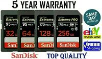 SanDisk Extreme Pro 32,64,128,256GB UHS-I SDHC Memory Card (SDSDXXG-032G-GN4IN)