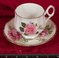 Vintage Tea Cup & Saucer Royal Dover England Bone China mbh