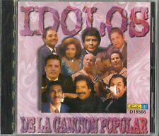 Idolos De La Cancion Popular Latin Music CD