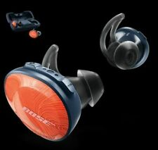 MW BOSE SoundSport Free Wireless Headphones Bright Orange Workout Bluetooth Buds