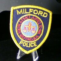 Patch Retired: Police Department Milford, N.H. Mini Patch