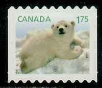 Canada #2429ii Baby Wildlife : Polar Bear Die-Cut from Coil MNH