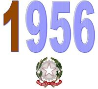 ITALIA Repubblica 1956 Singolo Annata Completa integri MNH ** Tutte le emissioni