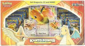 Pokemon Kanto Power Collection Dragonite RED Box (XY Evolutions Boosters!)