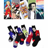 Funny Vintage Novelty Ankle Socks Cotton Painting Art