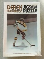Derek Sanderson Boston Bruins Hockey Jigsaw Puzzle Vintage 1971 500 Pieces New