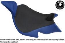 ROYAL BLUE & BLACK VINYL CUSTOM FITS BENELLI 1130 TNT 04-15 FRONT SEAT COVER