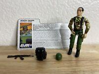 """Vintage  Gi Joe 1997 GRUNT V4 Infantry Trooper Stars And Stripes Set 3.75"""""""