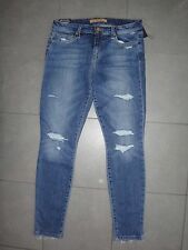 Joe's Jeans Skinny ankle destroyed rip knee jeans frayed hem in MAYRA sz.29 NWT