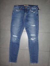 Joe's Jeans Skinny ankle destroyed rip knee jeans frayed hem in MAYRA sz.29 NWT