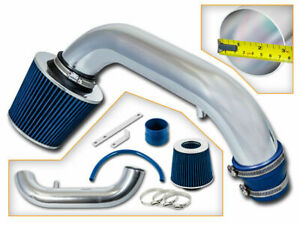 BCP BLUE 95-99 Dodge Neon 2.0L L4 Air Intake Racing System + Filter