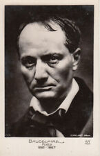 Charles Baudelaire photo postcard