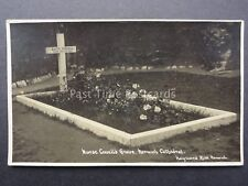 Norfolk NORWICH CATHEDRAL Nurse Cavells Grave - Old RP Postcard by Hayward Kidd