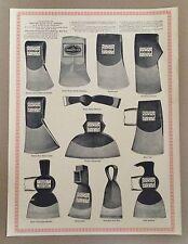 Vintage Empire Edge Tool Works M.H. Jones & Co. 1971 Antique Reprint Poster