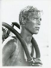 JAMES FRANCISCUS SCUBA DIVER PORTRAIT HELL BOATS ORIGINAL 1967 ABC TV PHOTO