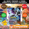 Unlocked Ultra Moon All Pokemon Shiny Max Item Event DS