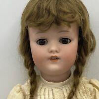 "Antique  Kestner 168 Square Cut Molded Teeth 19"""