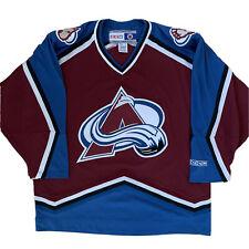 Colorado Avalanche Jersey Xl Maroon Ccm Nhl Hockey Stanley Cup Patrick Roy