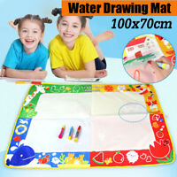 Drawing Water Pen Painting Magic Doodle Aquadoodle Mat Board Kids Toy Gift