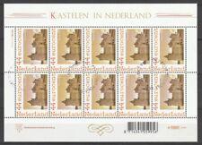 Nederland NVPH 2562Aa20 Vel Kastelen Muiderslot 2007 Gestempeld TNT Post