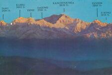 Ancienne AK Mount Kanchenjunga, Darjeeling, Inde ungelaufen vue Carte b004d