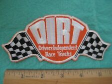 Vintage Dirt Drivers Independendent Race Tracks  Hat Patch