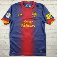 2012-2013 FC Barcelona Barca FCB Jersey Shirt Kit Home Iniesta #8 Small S