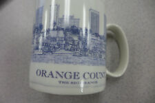 Starbucks Orange County CA Coffee Mug Architect Collector Series Cup 2008 18 OZ