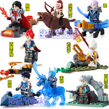 Building blocks 8pcs NEW Glory of Kings Figures One of China Romance kids toys